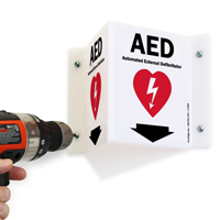 Safety Sign Aed