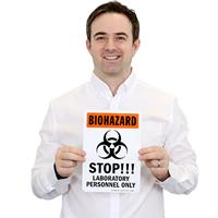 Stop Biohazard Warning Sign