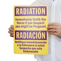 Radiation If Pregnant Warning Sign