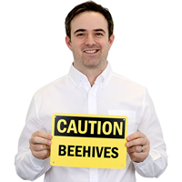 Beehives Sign