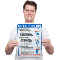 Safe Lifting Tips Bend Your Knees Signs