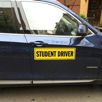 Student Drive for Car Sign