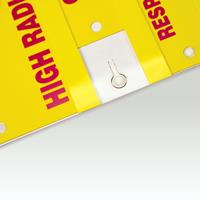 4 Insert Slide-Lock Sign System