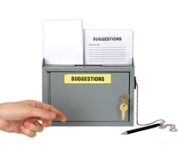 Slim Size Suggestion Box