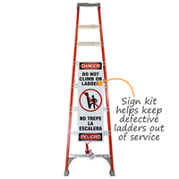 Bilingual Ladder Shield Kit