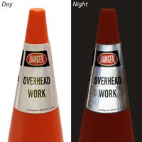 Danger Overhead Work Cone Collar