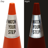 Watch Your Step Cone Message Collar