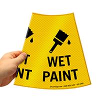 Wet Paint Cone Collar