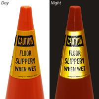 Floor Slippery When Wet Cone Collar