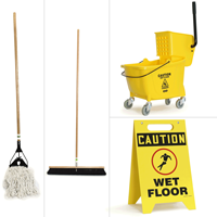 Clean and Mop Store Board Kit