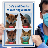 Do's And Don'ts Of Wearing A Mask