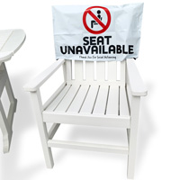 Seat Unavailable - Thank You For Social Distancing