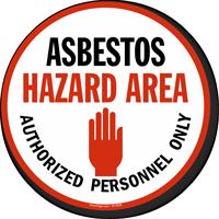 Asbestos Hazard Area
