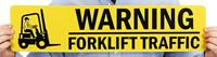 Warning Forklift Traffic Sign