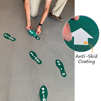 First aid floor markers
