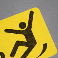Watch Your Step GripGuard and SlipSafe Floor Signs