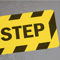 Watch Your Step Floor Safety Signs