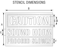Stencil ST 0102
