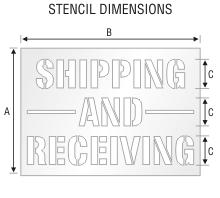 Stencil ST 0103