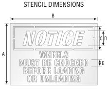 Stencil ST 0104