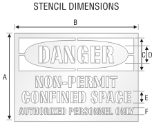 Stencil ST 0106