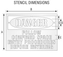 Stencil ST 0108
