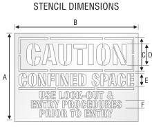 Stencil ST 0109
