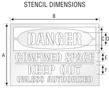 Stencil ST 0110