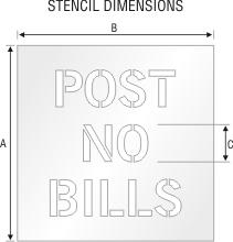 Stencil ST 0124