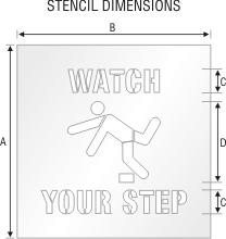 Stencil ST 0135