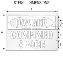 Stencil ST 0159