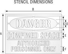 Stencil ST 0161