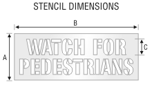 Stencil ST 0191