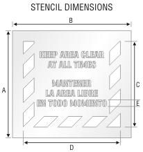 Stencil ST 0239