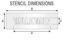 Stencil ST 0411