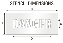 Stencil ST 0414