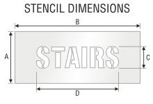 Stencil ST 0421
