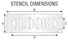 Stencil ST 0480