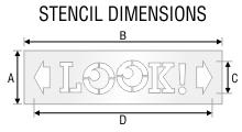 Stencil ST 0485