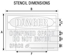 Stencil ST 0490
