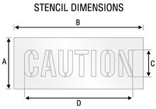 Stencil ST 2050