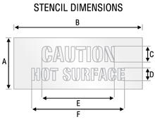 Stencil ST 2061