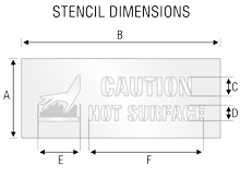 Stencil ST 2063