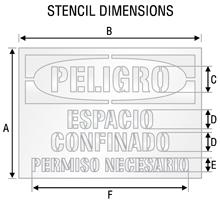 Stencil ST 2122