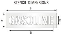 Stencil St 0260