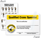 Self Laminated Qualified Crane Operator Wallet Card