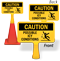 Caution Possible Icy Conditions ConeBoss Sign