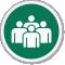 Evacuation Assembly Point Symbol ISO Circle Sign