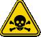 ISO Toxic, Poison Symbol Warning Sign
