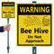 Bee Hive Sign